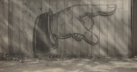 Painted Sign on Fence, Cedar Point, Ohio