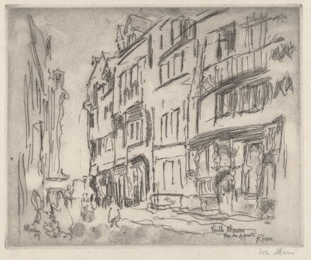 Old House, Rue des Arpents, Rouen, I