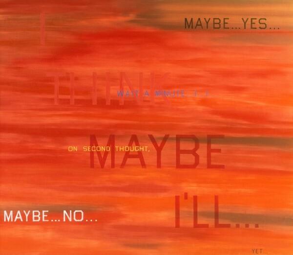 I Think I'll...
