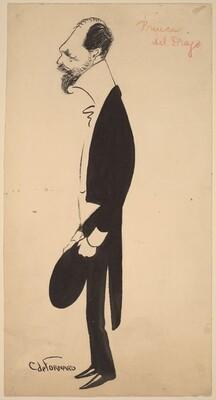 Caricature of Prince del Drago