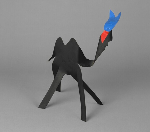 Black Camel with Blue Head and Red Tongue