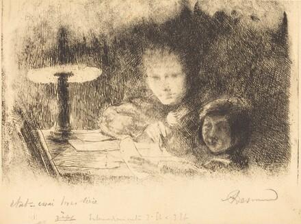 By the Lamp (Sous la Lampe)