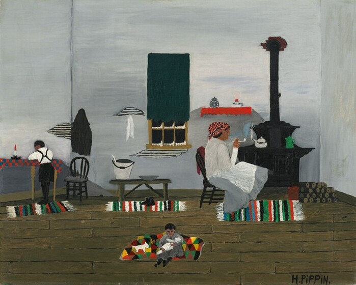 Horace Pippin, School Studies, 19441944