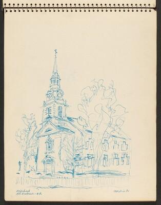 Old Church, St. Andrews, New Brunswick, Canada