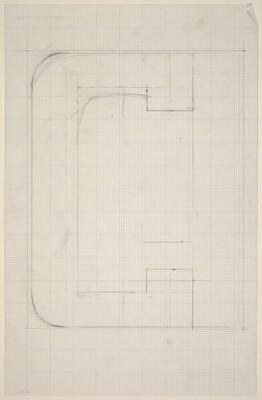 Sketch for Building - Blocks for a Doorway (C)