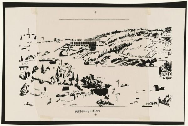 Study for Jerusalem, Temple Mount