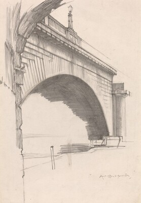 An Arch of Old Waterloo Bridge