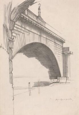 An Arch of Old Waterloo Bridge