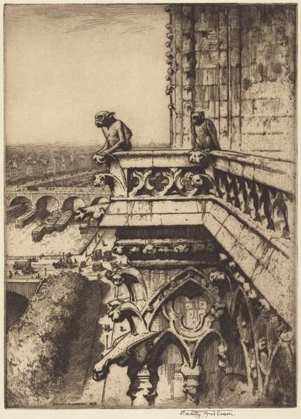 The Chimera, Notre Dame, Paris