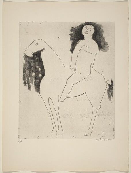 Horseman (Un cavalier)