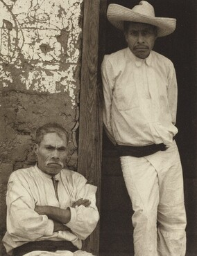 Men of Santa Anna, Michoacan