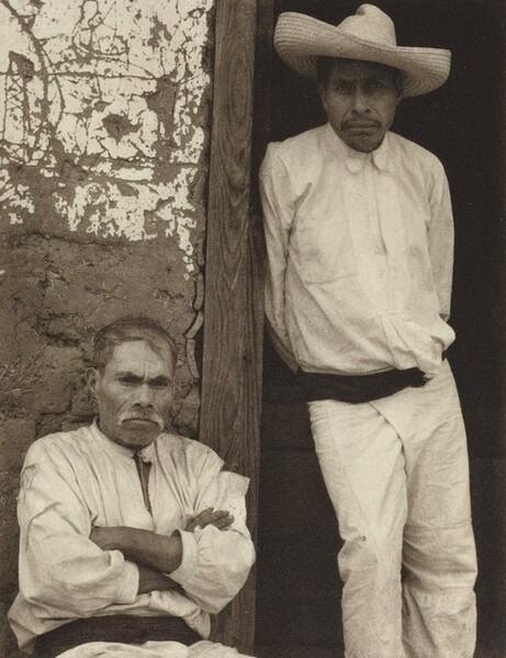 Men of Santa Anna, Michoacan
