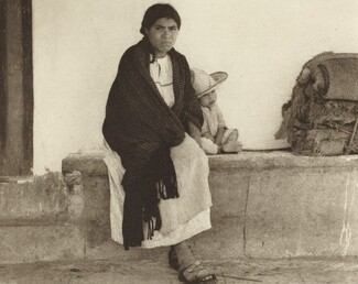 Woman and Baby, Hidalgo