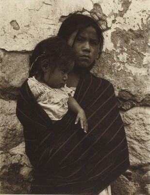 Girl and Child, Toluca