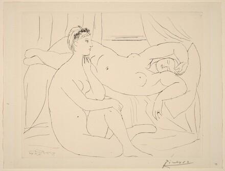 Two Nudes Resting (Femmes se Reposant)