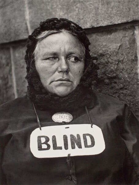 Blind Woman, New York