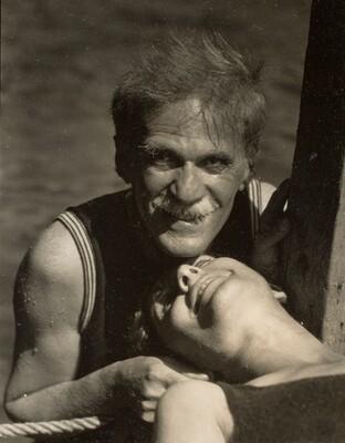 Alfred Stieglitz and Rebecca Strand at Lake George