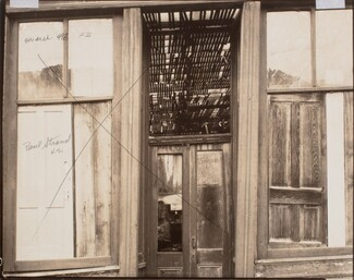 Deserted Building, New Mexico [verso]