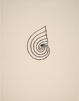 Rendering for the Twelfth of Thirteen Spiral Drawings