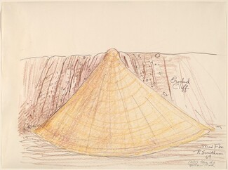 Robert Smithson, Mud Flow (1000 Tons of Yellow Mud), 19691969