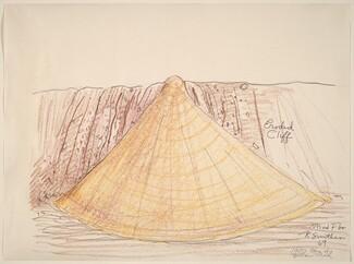 Robert Smithson, Mud Flow (1000 Tons of Yellow Mud), 19691969