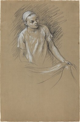 Study (The Artist's Son Julien)