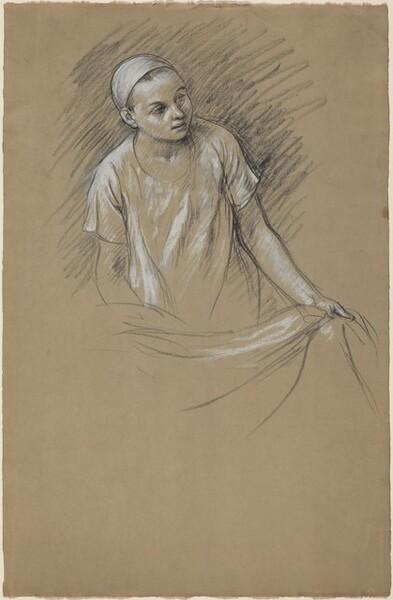 Study (The Artist's Son Julien)