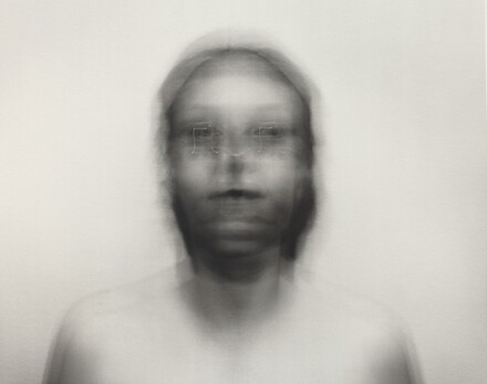 Self-Portrait: Square motion, small