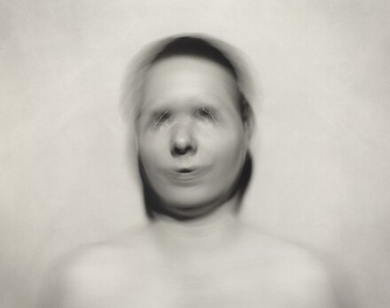 Self-Portrait: Pivotal motion from nose, small