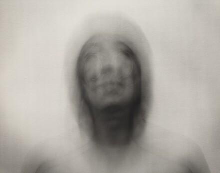 Self-Portrait: Vertical elliptical motion, large
