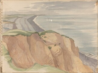 Cliff End, Weybourne [verso]