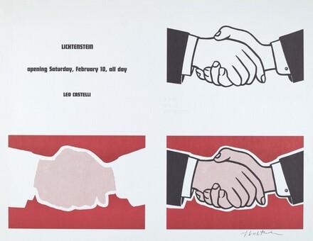 Castelli Handshake Poster