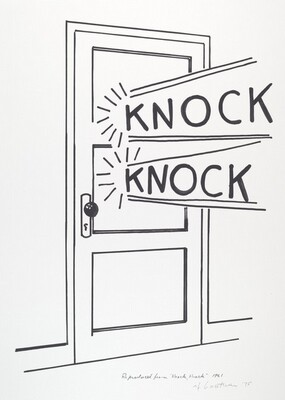 Knock, Knock Poster