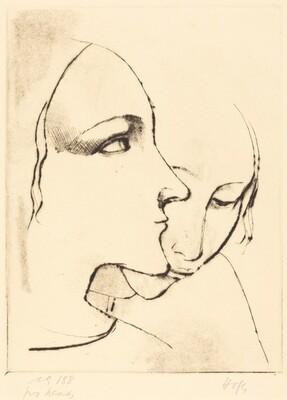Two Heads (Zwei Madchenkopfe)