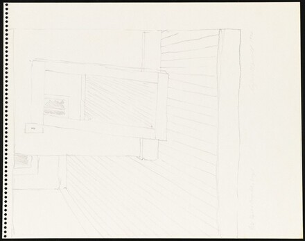 Untitled (Studio Corner) [recto]
