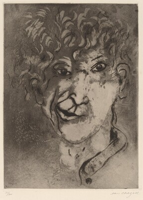 Self-Portrait with a Grimace