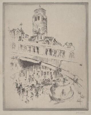 Ponte Ghetto, Venice