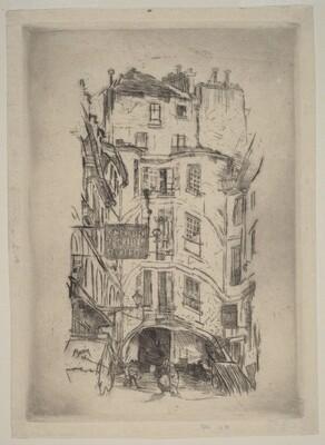Cour Dragon, Paris