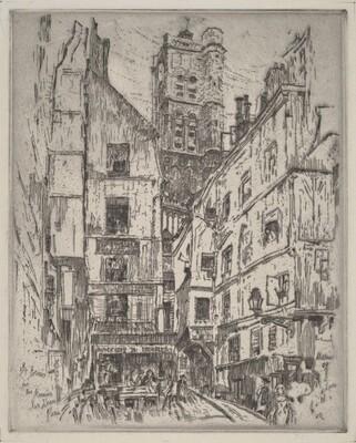 St. Gervais, Rue Grenier Sur L'Eau, Paris