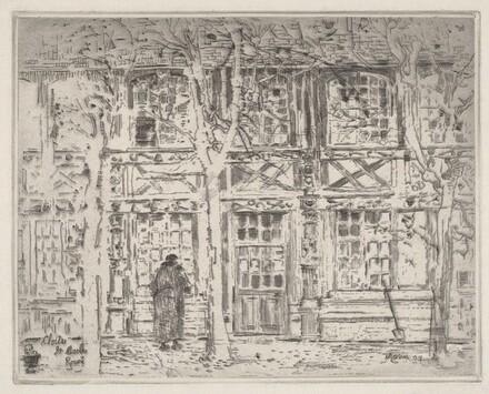 Cloitre St. Maclou, Rouen, II