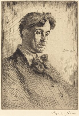 William Butler Yeats: fifth plate