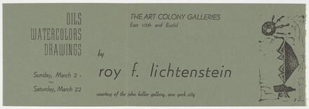 The Art Colony Galleries Announcement
