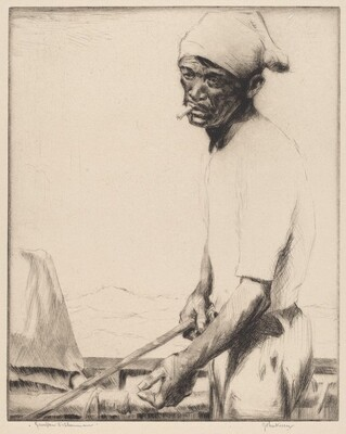 Sampan Fisherman