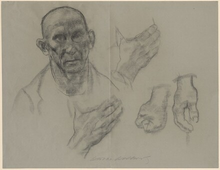 Head and Hands of a Working Man