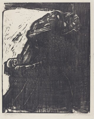 Woman and Children Going to Their Death (Fraumit Kindern in den Tod Gehend)