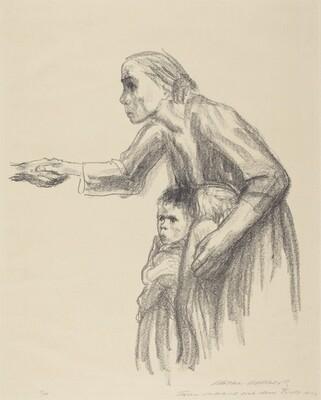 Woman Entrusting Herself to Death (Frau vertraut sich dem Tode an)
