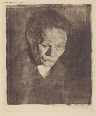 Woman with Bowed Head (Gesenkter Frauenkopf)
