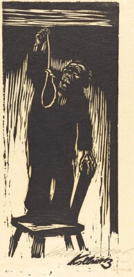 The End - Old Man with a Rope II (Das Letzte - Alter Mann mit Strick II)