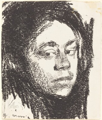 Self-Portrait, Three quarters Right (Selbstbildnis, dreiviertel nach Rechts)