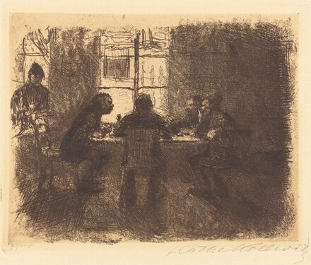 Four Men in a Pub (Vier Manner in der Kneipe)